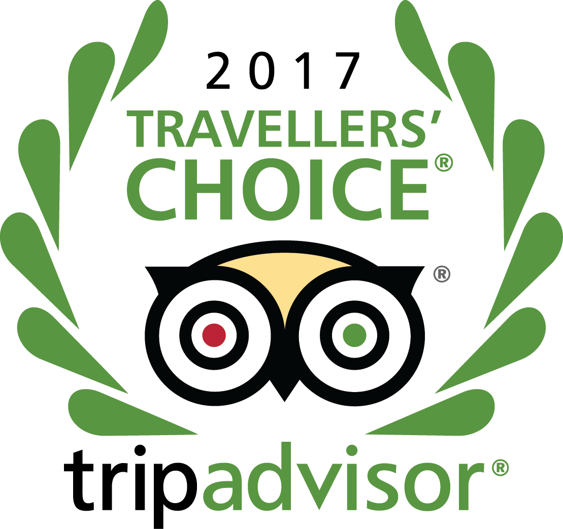 TripAdvisor Travellers Choice winner 2017